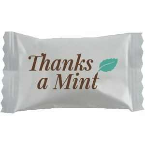Pink Buttermints Cool Creamy Mint in a Thanks A Mint Wrapper